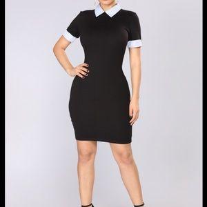 Wednesday Collar dress size Medium